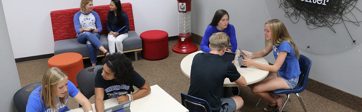 Students in the Writing Center